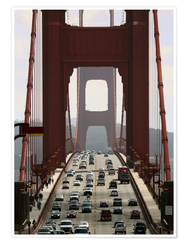 Premium poster Golden Gate Bridge