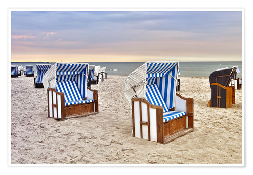 Premium poster Baltic Sea beach