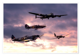Premium poster Battle of Britain Memorial