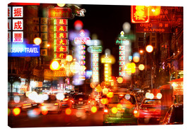 Canvas print  Neon lights in Bangkok's Chinatown - HADYPHOTO