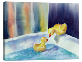 Canvas print  Rubber ducks - Jitka Krause