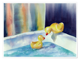 Premium poster Rubber ducks