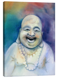 Canvas print  Laughing Buddha - Jitka Krause