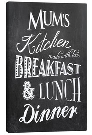 Canvas print  Mum's kitchen - GreenNest