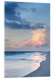 Acrylic print  Sylt, sunset at the beach - Markus Lange