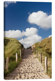 Canvas print  Sylt, path through dunes - Markus Lange