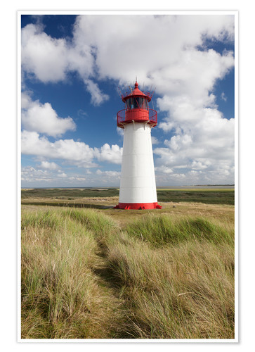 Premium poster Sylt, lighthouse