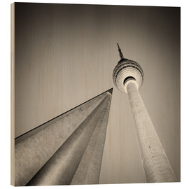 Wood  Berlin - Television Tower (Analogue Photography) - Alexander Voss