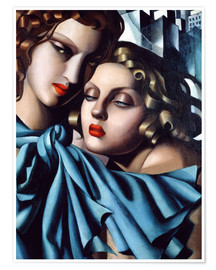 Poster  The girls - Tamara de Lempicka