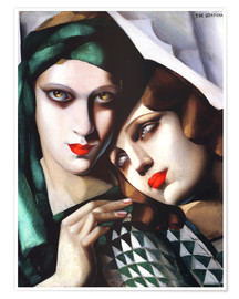 Poster  The green turban - Tamara de Lempicka
