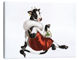 Canvas  glamour cow - Tanja Doronina