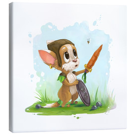 Canvas print  My little hero - Alexandra Kreipl