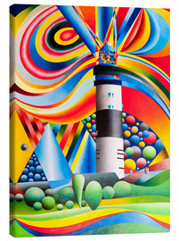 Canvas print  Sylt, Lighthouse Kampen - Gerhard Kraus