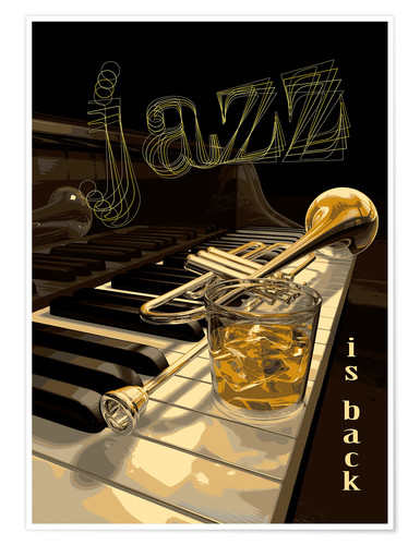 Premium poster Jazz is back