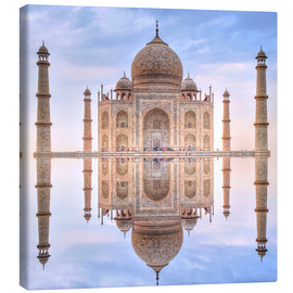 Canvas print  The Taj Mahal - HADYPHOTO