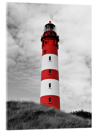 Acrylic print  Lighthouse in Amrum, Germany - HADYPHOTO