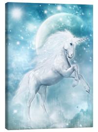 Canvas print  Unicorn on my way - Dolphins DreamDesign