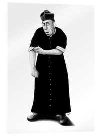 Acrylic glass  Don Camillo ready to rumble - Stefan Kahlhammer