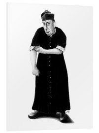 Foam board print  Don Camillo ready to rumble - Stefan Kahlhammer