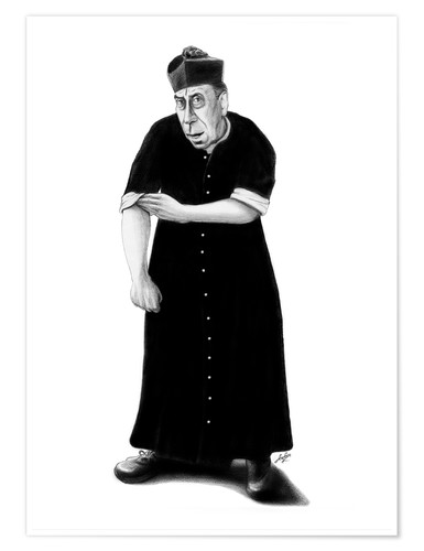 Premium poster Don Camillo ready to rumble