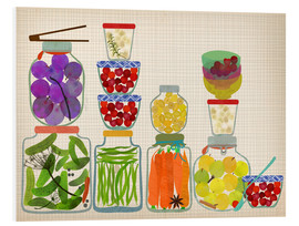 Foam board print  Colorful harvest - Elisandra Sevenstar