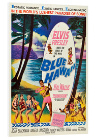 Foam board print  Blue Hawaii