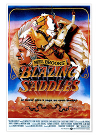 Premium poster  BLAZING SADDLES