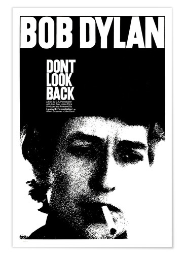 Premium poster DON'T LOOK BACK