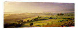 Acrylic print  Orcia Valley at sunrise - Markus Lange