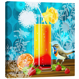 Canvas print  Vintage Birdy Cocktail II - Mandy Reinmuth