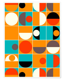 Premium poster  Panton Pop - Mandy Reinmuth