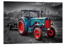 Acrylic print  Hanomag tractor Oldtimer - Peter Roder