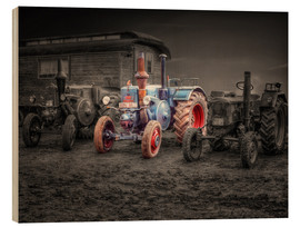 Wood print  Lanz Bulldog tractor Oldtimer - Peter Roder