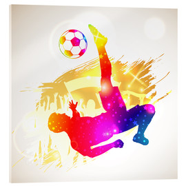Acrylic print  Football Player - TAlex
