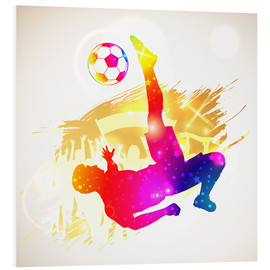 Foam board print  Football Player - TAlex