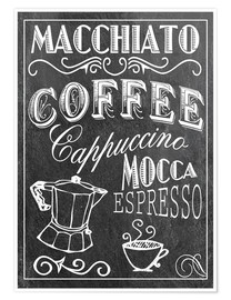 Premium poster  Coffee Print - GreenNest