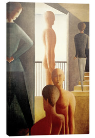 Oskar Schlemmer - Five men in the room