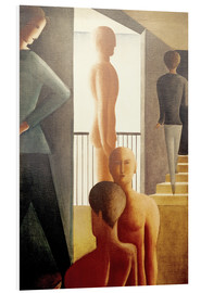 Forex  Five men in the room - Oskar Schlemmer