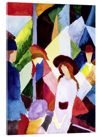 Acrylic print  Store window - August Macke