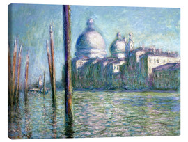 Canvas print  The Grand Canal - Claude Monet