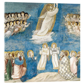 Acrylic print  The Ascension of Christ - Giotto di Bondone