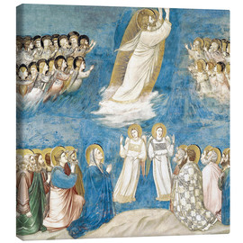 Canvas print  The Ascension of Christ - Giotto di Bondone