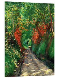 Forex  Forest path - Gustave Caillebotte