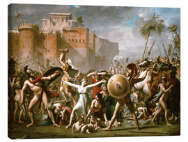 Canvas print  The Sabine Women - Jacques-Louis David