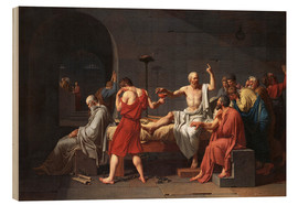 Wood  The Death of Socrates - Jacques-Louis David