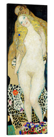 Alu-Dibond  Adam and Eve - Gustav Klimt