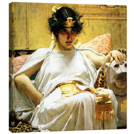 Canvas print  Cleopatra - John William Waterhouse