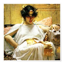 Premium poster  Cleopatra - John William Waterhouse