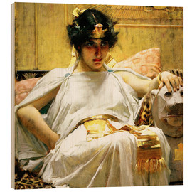 Wood  Cleopatra - John William Waterhouse