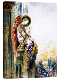 Canvas  Traveller Engel - Gustave Moreau